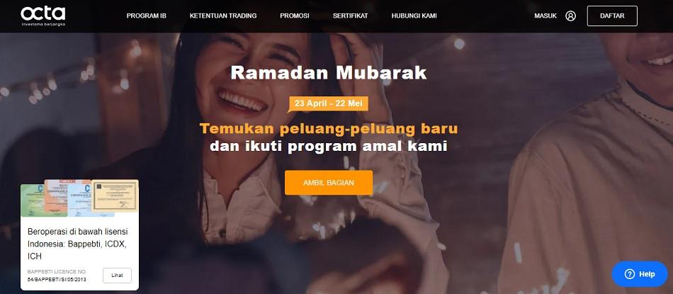 review detail informasi tentang PT. Octa Investama Berjangka