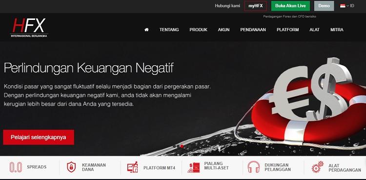 review broker forex lokal PT. HFX Internasional Berjangka