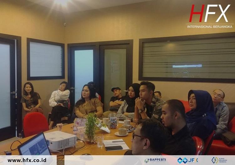 pelatihan forex trading oleh PT. HFX Berjangka